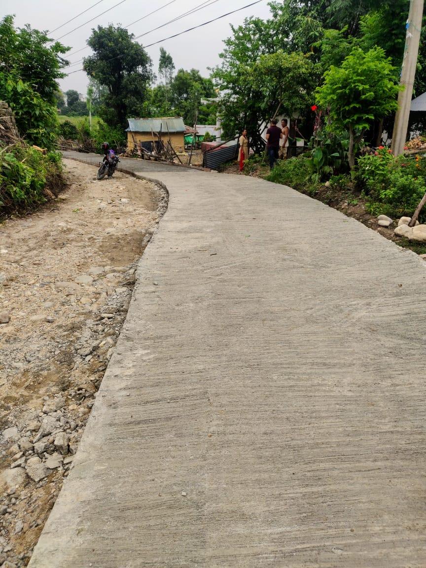 Amlekhgunj Hattisaar Road